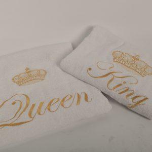 Bridal towel set